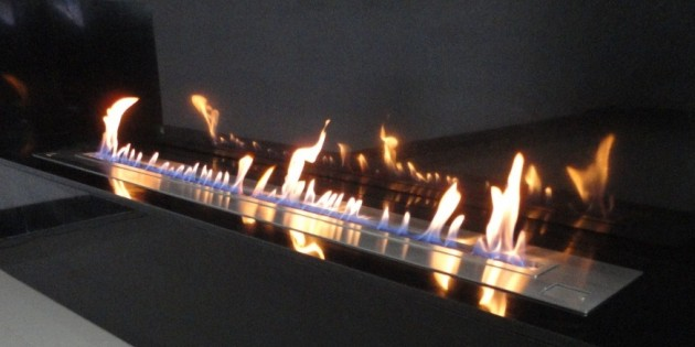 aFire BX180 - Long Ethanol Burner