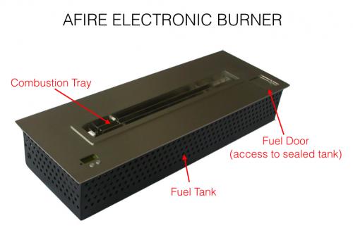 aFire BL66 Electronic Ethanol Burner